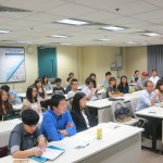 The talk is full of audiences who are interested in the Digital Advertising Industry.